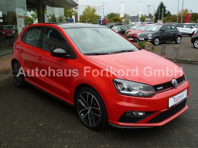 Volkswagen Polo V GTI  Autom., LED, PDC v/h, Sitzh., Panod., Alu 17''