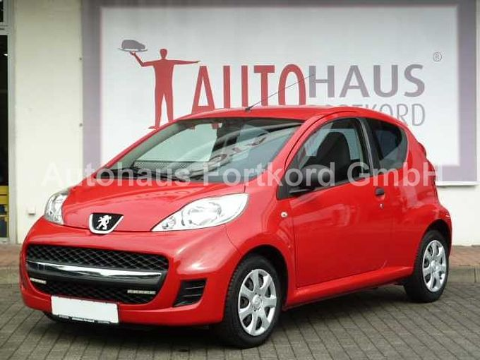 Peugeot 107 Active, Standheizung, Klima, Radio/CD/USB
