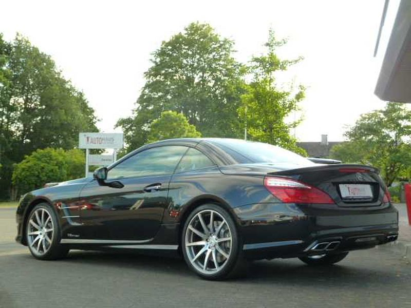 Mercedes-Benz SL 63 AMG - Speedshift Perform. - BiXenon, Leder, Pano, LED, PDC v/h, R. -Cam